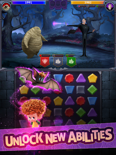 Hotel Transylvania: Monsters! - Puzzle Action Game 1.6.2 screenshots 9