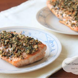 Nori Crusted Salmon.