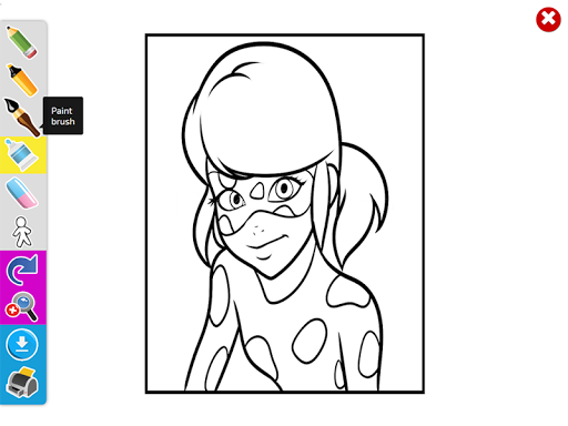 Coloring Book For Mira Ladybug Apps Apk Free Download Android PC