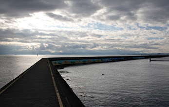 Photo: The Breakwater, Ogden Point, Victoria, British Columbia  I remember walking out on this as a kid. It always was a place of wonder and a little bit of fear. A wide stable walkway with no railings, but the safety of parents nearby. I think this is a better playground for life in many ways.