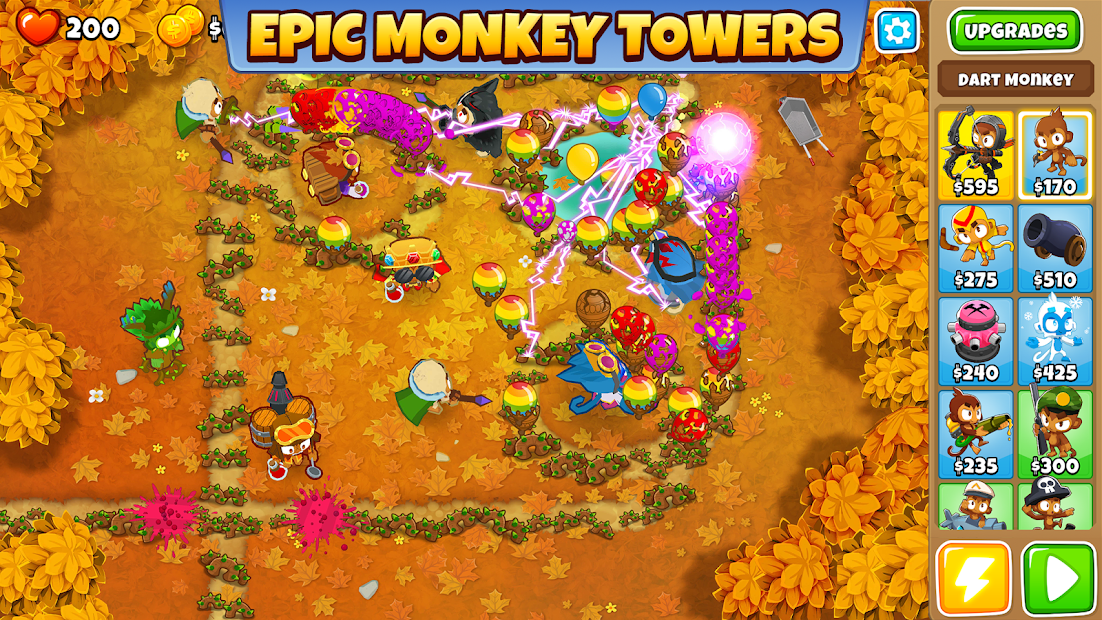 Bloons TD 6 Android App Screenshot