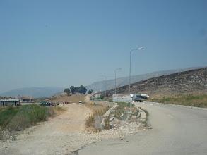 Photo: En blanc la frontière coté albanie