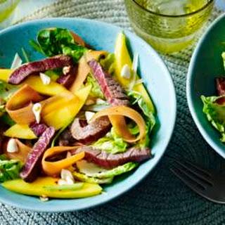 Thai Beef And Mango Salad.