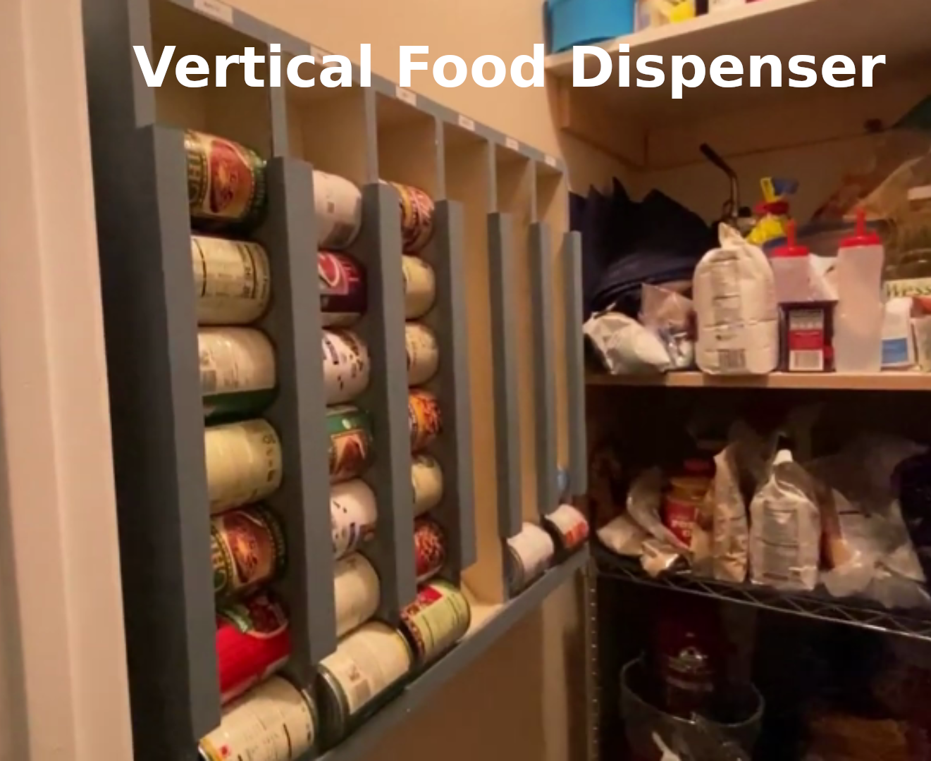 Can Storage System Ideas for Your Kitchen Pantry