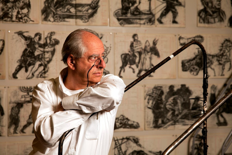 William Kentridge. Picture: SUPPLIED