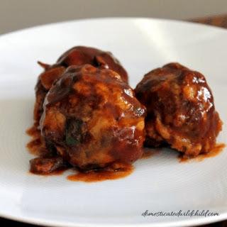 Chicken Jalapeno Meatballs