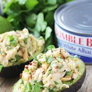 Fast & Healthy Tuna Stuffed Avocado