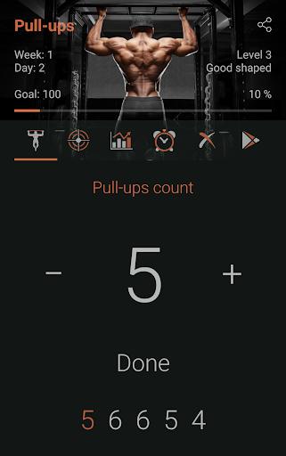 100 Pull-Ups - Ultimate Workout 1.8.8 screenshots 1