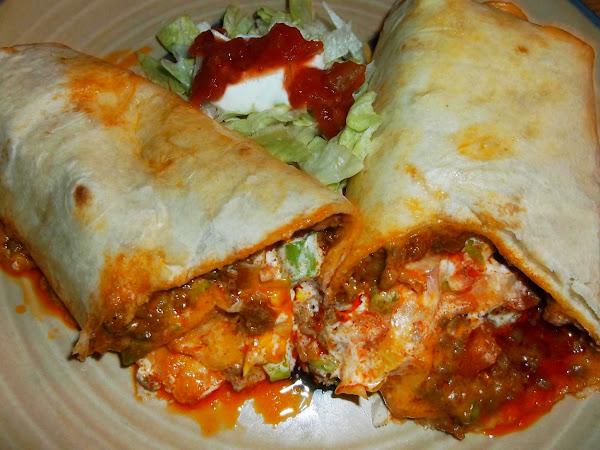 Beef Soft Taco Burrito Fajitas Recipe