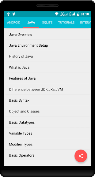 Learn Android Java Pro- screenshot thumbnail