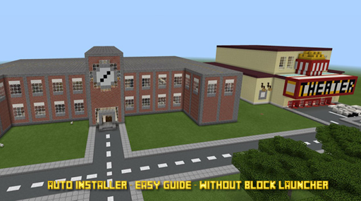 School and Neighborhood Map for Mcpe for PC