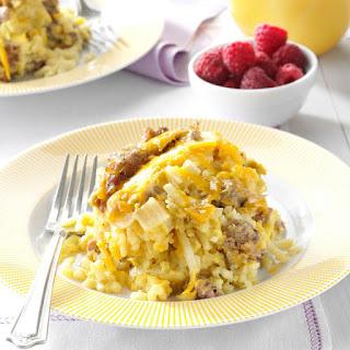 Slow Cooker Breakfast Casserole.