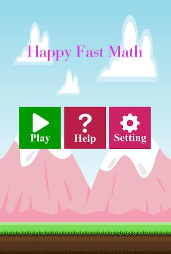 Fast Math Happy - Quick Think