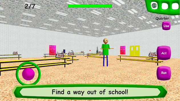 Baldi's Basics in Education apk screenshot