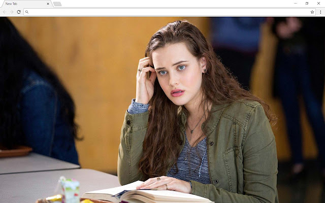 13 Reasons Why Backgrounds & New Tab