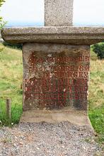 Photo: J21 : base de croix à Chazelles, après St Alban les Eaux