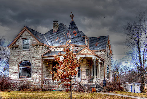 The Tiny Castle~ by Karen McKenzie McAdoo - Buildings & Architecture Homes
