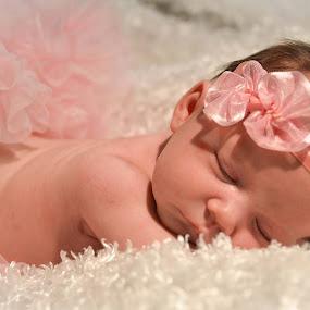 Sleeping baby, girl,  by John & Sharon Green - Babies & Children Babies ( sleeping baby, infant, newborn )