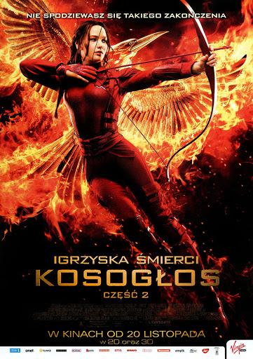 Przód ulotki filmu 'Igrzyska Śmierci: Kosogłos. Część 2'