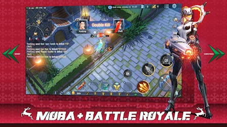 Survival Heroes - MOBA Battle Royale APK screenshot thumbnail 1