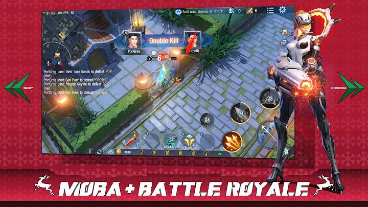 Survival Heroes - MOBA Battle Royale Android App Screenshot