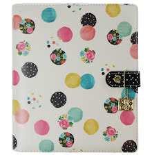 Simple Stories Carpe Diem A5 Planner - Floral Dot UTGÅENDE