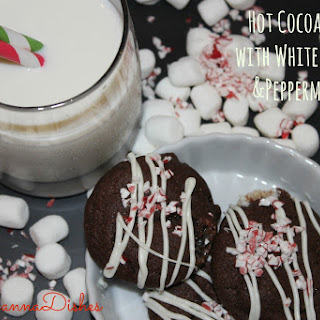 Hot Cocoa Cookies with White Chocolate and Peppermint Dust Recipe
