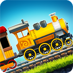 Fun Kids Train Racing Games Icon