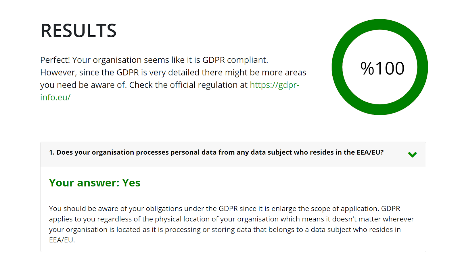 NormShield GDPR compliance checker