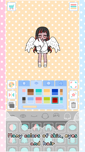 Pastel Friends : Dress Up Game 1.2.4 screenshots 5