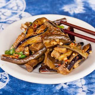 Garlic and Chili Chinese Eggplant.