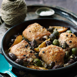 Chicken with Olives & Capers from my cookbook Sweet Paul Eat & Make.