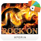 XPERIA Rock on Theme icon