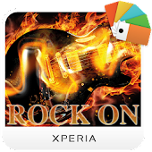 Xperia™ theme - Rock on