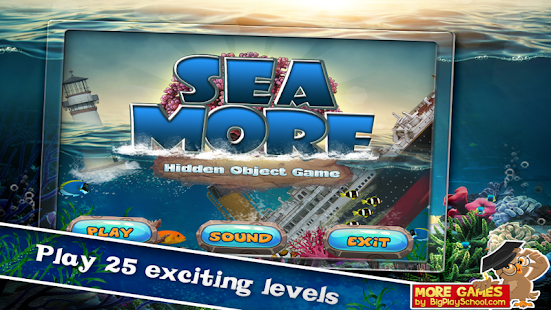 10 - New Free Hidden Object Game Free New Sea More - náhled