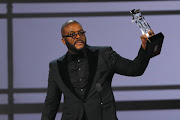Tyler Perry accepts the Ultimate Icon award.