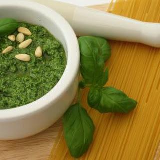Low Calorie Pesto Sauce