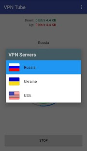 VPN Tube Screenshot