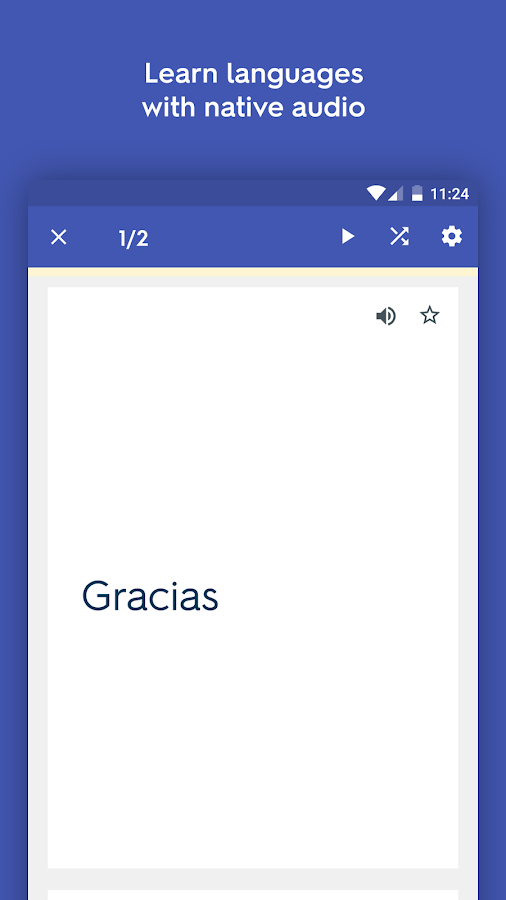 Screenshots of Quizlet Flashcards & Learning for iPhone