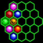 2048 Hexa Glow Super Free Puzzle Game
