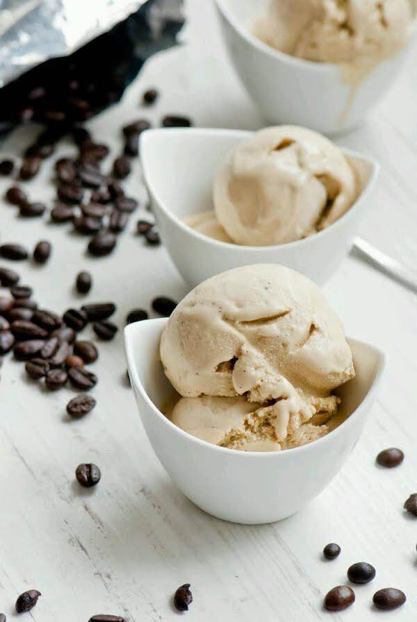 No Churn Coffee Ice Cream Recipe