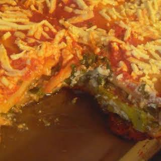 Super Homemade-y Vegan Lasagna.