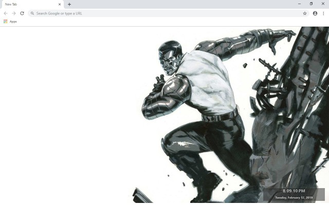 Colossus New Tab & Wallpapers Collection