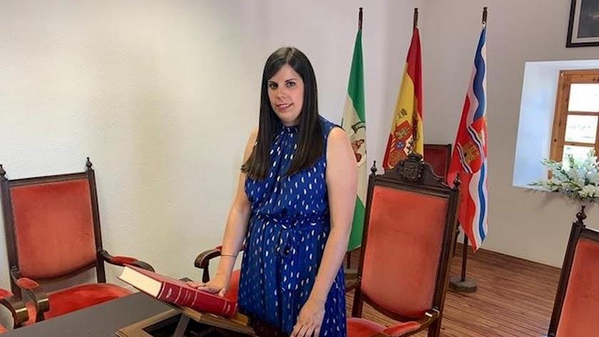 Almudena Morales, alcaldesa de Laujar.
