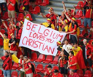 Un supporter belge est presque entré dans le vestiaire des Diables