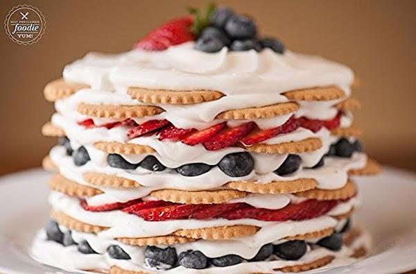 Coconut Berry Icebox Cake Recipe