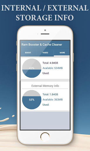 Ram Booster & Cache Cleaner  screenshots 7