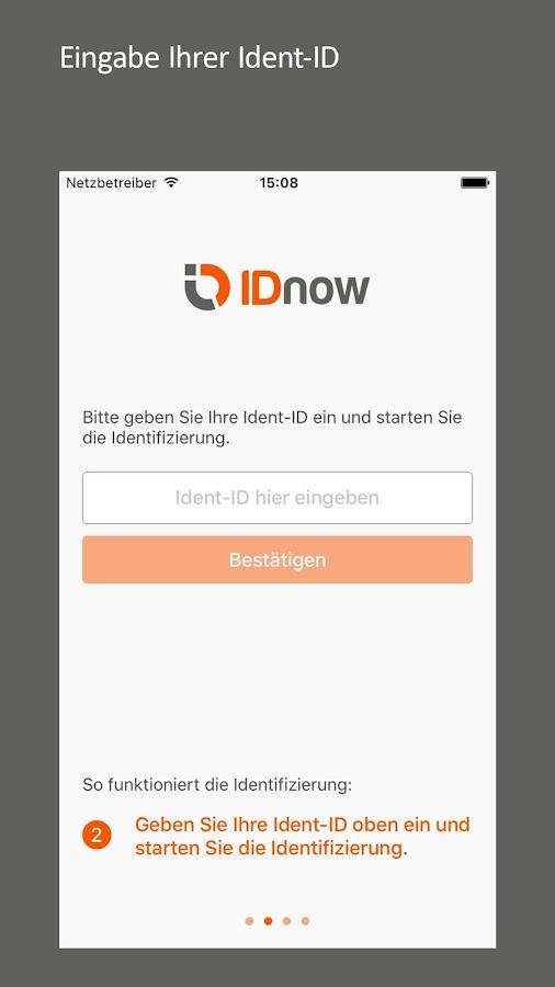 Idnow Ident Id