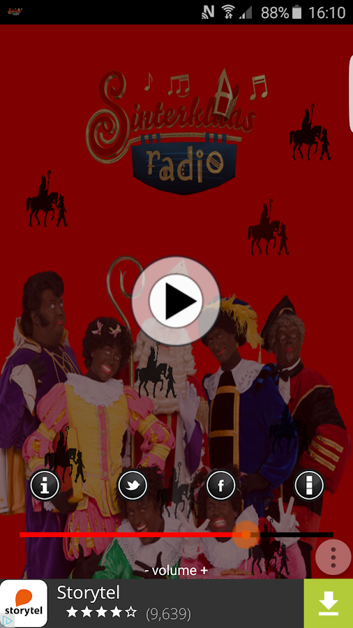 SinterklaasRadio- screenshot