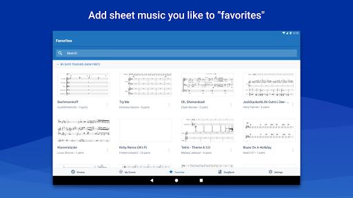 MuseScore: view and play sheet music 2.5.25 screenshots 9